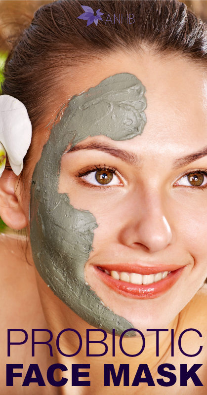 Probiotic Face Mask - #allnatural #facemask #probiotic #health #naturalbeauty