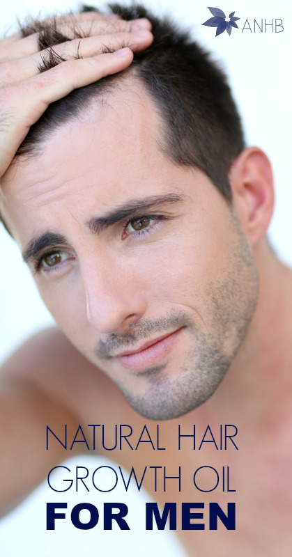 Natural Hair Growth Oil For Men - #natural #haircare #menscare