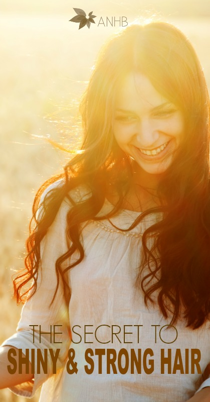 The secret to shiny and strong hair - #haircare #health #allnatural #hair