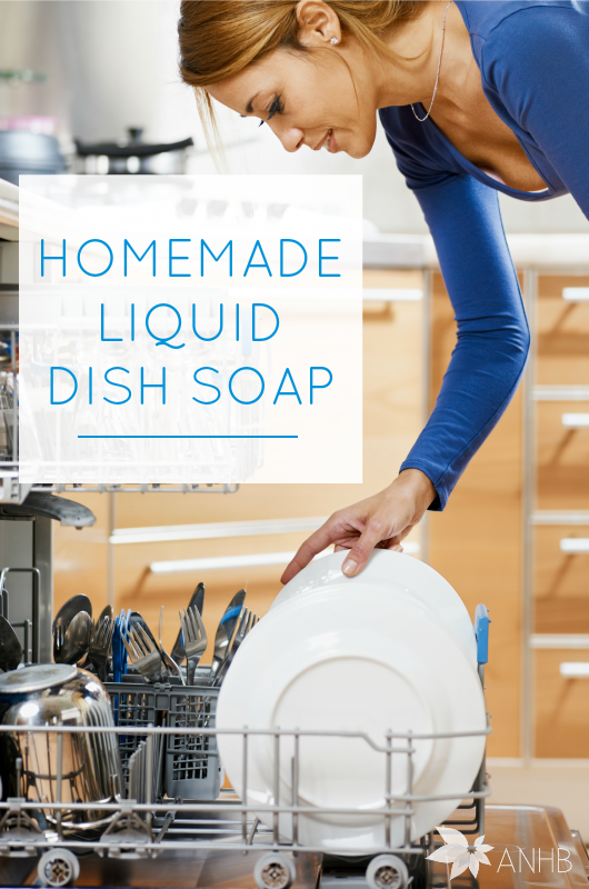Homemade liquid dish soap that works (and is frugal, too!). Finally.