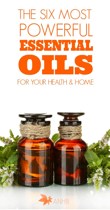 The 6 MOST Powerful Essential Oils for Your Health and Home