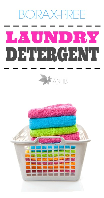 DIY Borax Free Laundry Detergent