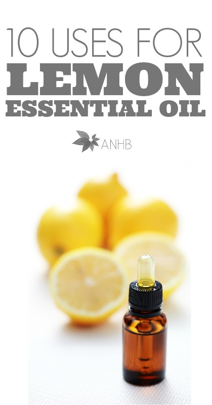 10 uses for lemon essential oil! #2 is my favorite.