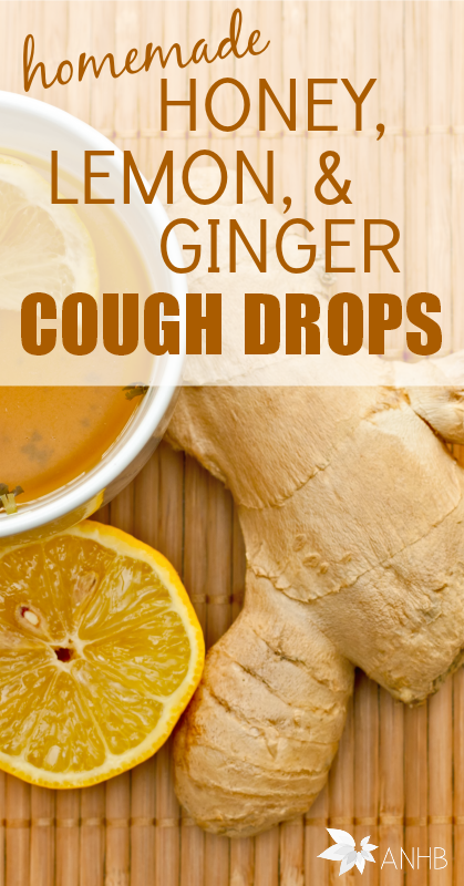 These homemade honey, lemon, and ginger cough drops are amazing! Definitely save this for when a cold hits your home.