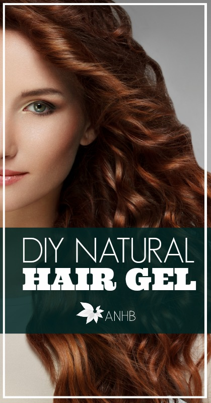 Do-it-yourself natural hair gel! This is genius! Can't wait to try it.