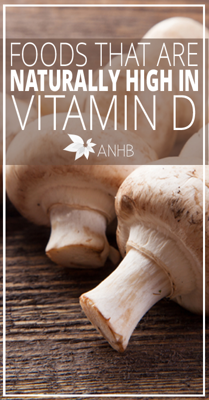 Foods That Are Naturally High In Vitamin D - All Natural Home and Beauty