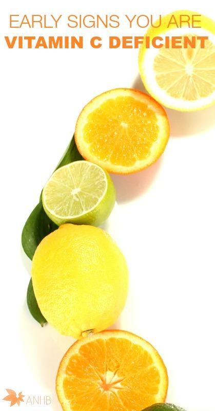 Early Signs You Are Vitamin C Deficient - #naturalremedies #naturalhealth #vitaminc