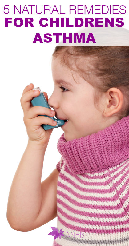 5 Natural Remedies for Children's Asthma - #asthma #naturalremedies #health