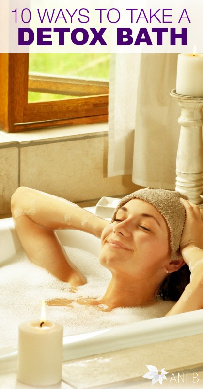 10 Ways to Take a Detox Bath #detox #health #natural #health