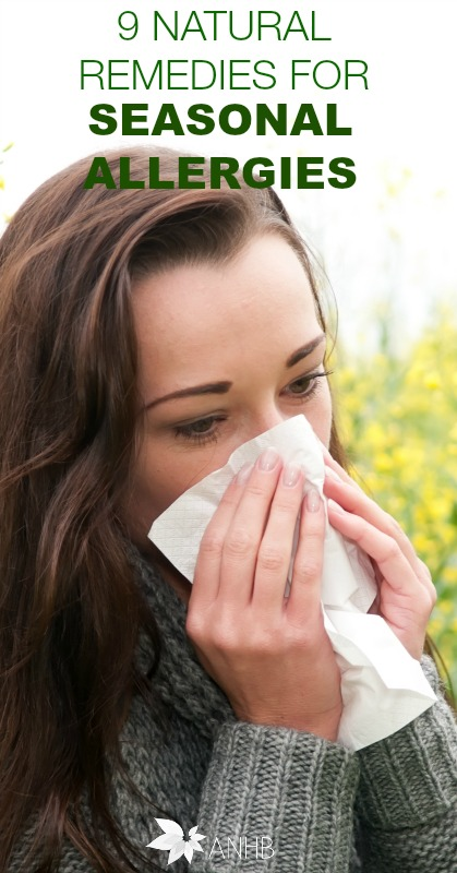 9 Natural Remedies for Seasonal Allergies #allergies #naturalremedies #health
