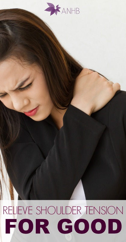 Relieve Shoulder Tension For Good #health #remedies #shoulder #tension #pain